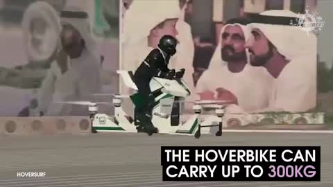 Dubai Police Will Be Patrolling In Style Using Hoverbikes