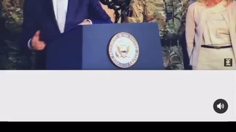 Creepy Sleepy Joe Insulting the Military