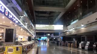 Dubai airport shutdown during COVID