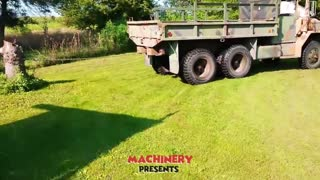 Top10 Dangerous Skills Tree Stump Removal With Tractors