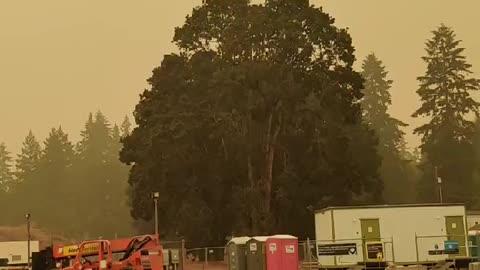 Oregon wild fires 2020