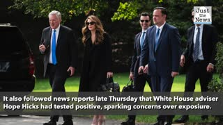 President Trump says he and first lady have COVID-19