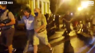 Fox News Reporter Chased By Protesters Outside White House