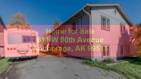 Alaska Real Estate King Home for Sale 611 W 90th Avenue Anchorage AK 99515
