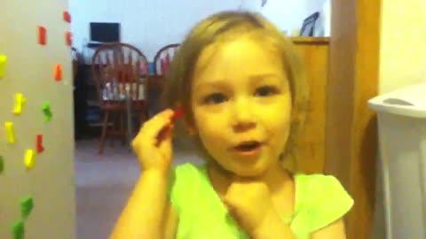 Emma singing 1st video