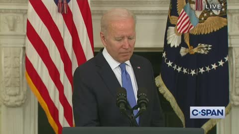 Joe Biden's Brain Slows Down to a Crawl as Reporters Ask Him Questions