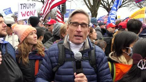 Massive crowds demand justice For Trump in DC