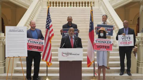 Press Conference For a Better Future For Black Americans