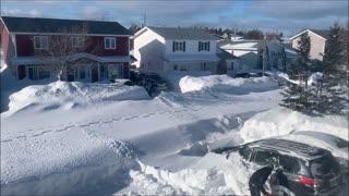 Massive Snowblowers for Massive Snowstorm
