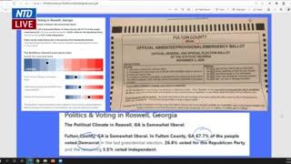 Voter Fraud ballot