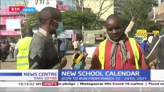 Kakamega residents react to the new school calendar