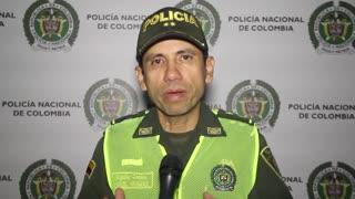 Recluso, que estaba de permiso, hirió a un policía en Bucaramanga