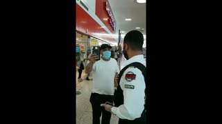 Man Harasses And Intimidates Woman In Toronto Mall For Not Wearing A Mask