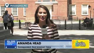 Amanda Head, Real America's Voice Correspondent discusses the Save America Freedom Tour