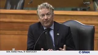 Rand Paul questions Blinken over drone strike in Afghanistan