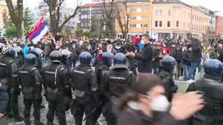 La Polizia in Bosnia si schiera dalla parte del Popolo!