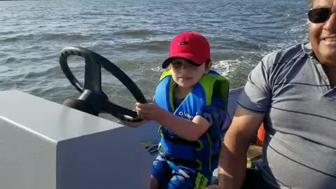 I Can Drive A Boat!