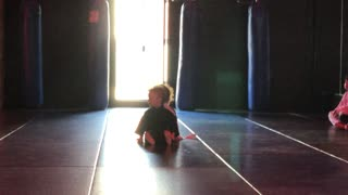 Mini Ninja sparring
