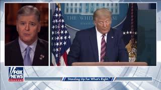 Trump slams Biden's border failures in 'Hannity' exclusive Interview