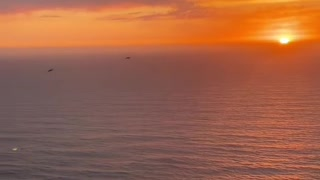 Evening sunset relaxing view chilling view short video