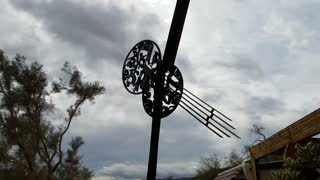 Unique Windmill at Joshua Tree National Park