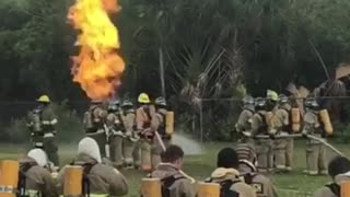 Live Fire Training Burn