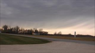 25 Min Storm Rolls Through In 3 Min