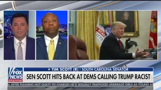 Tim Scott says President Donald Trump is not a racist