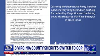 Another Virginia County Sheriff Switches to GOP