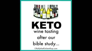 KTKK Sugar-free organic wine and our wine tasting party!