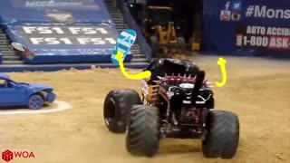 Crazy Monster Truck Freestyle