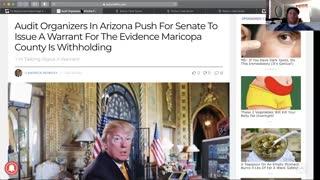 AZ Senate Considering Warrant, Madyson Exposing Mega Pastors, Old Cartoon Reveals Cabal Plan