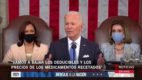 ONE OF THE LARGEST SPEECHES IN ALL US HISTORY BIDEN