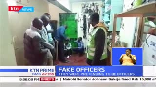 Police arrest suspected 'Fake Officers' in Kayole
