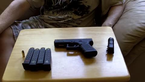 Glock 23 Gen 4 pre shoot review