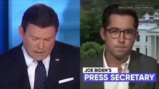 Joe Biden the puppet reading teleprompters