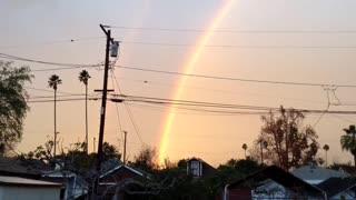Christmas Eve Double Rainbow