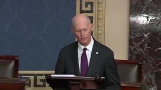 """Rick Scott RIPS """"King Biden"""" in Breathtaking Speech"""