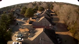 Shadow drone flight