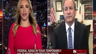 Texas Attorney General, Ken Paxton, on Biden's Immigration Policies