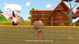 Kids, Child & Baby Nursery Rhymes. - Humpty Dumpty