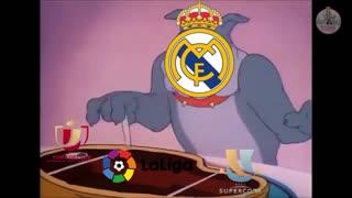 Bad luck against Real Madrid Football always brings surprises