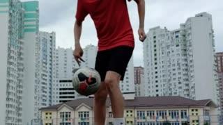 My skills in football