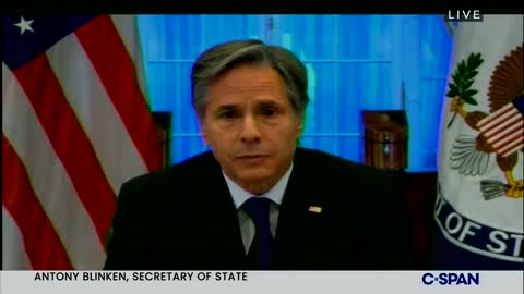 Blinken: Charter Flights Have Not Been Allowed To Leave By The Taliban