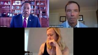 Larry Elder Gavin Newsom interview with L.A Times News Paper