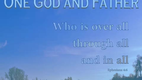 For Father's Day - Our Father in Heaven