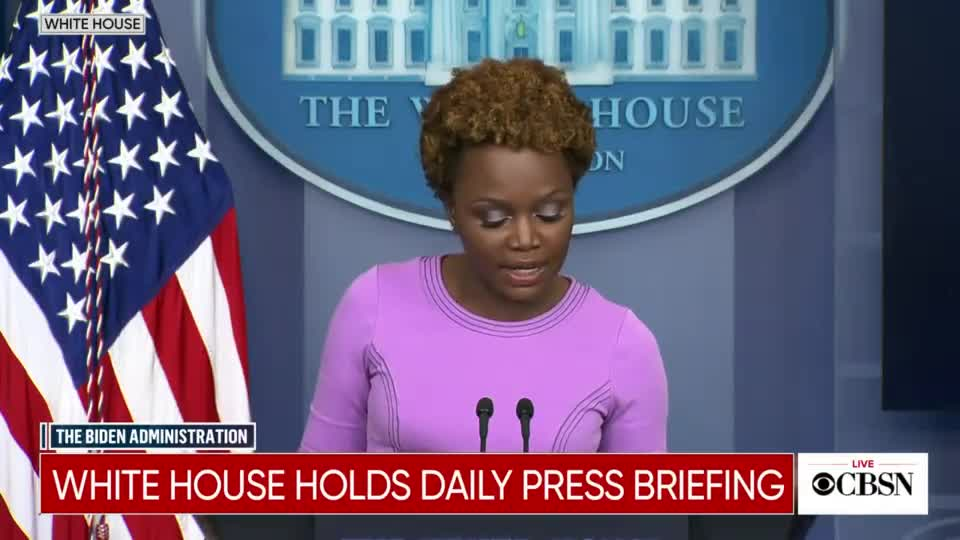 WH Official Left Speechless by BRUTAL Border Crisis Question