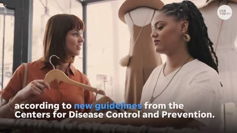 New CDC rules : vaccinated people can ditch in most indoor places | USA TODAY