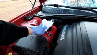 Checking the Fluids in your Vehicle