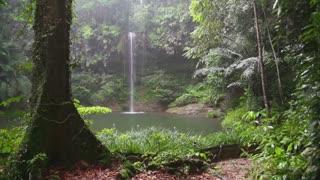 Waterfalls in jungle Amazing video